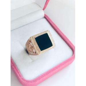 Мужское кольцо МК020